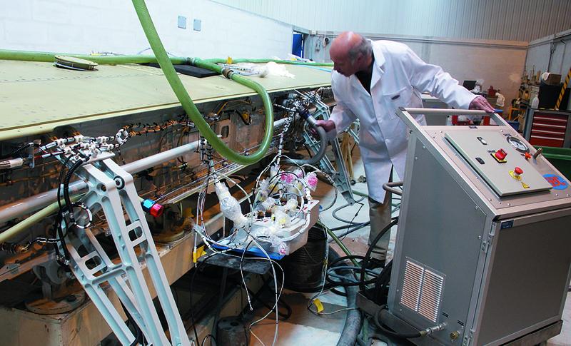 Airbus, ABC Bancs d'essai hydrauliques pour l'aéronautique, creazen film et photographie, studio de création